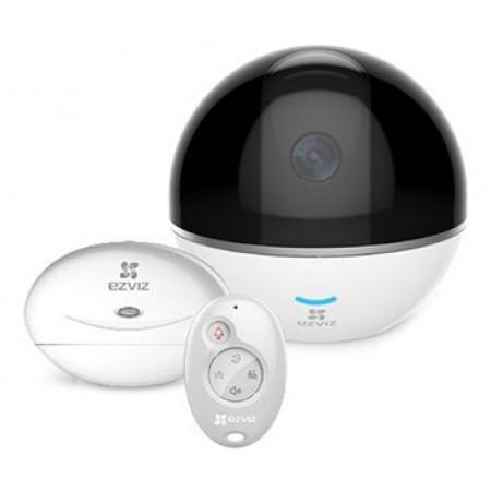 Комплект (2Мп многофункциональная PT камера EZVIZ + Hub+брелок) CS-CV248 (C6T WITH RF)