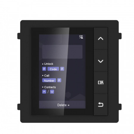 Модуль с монитором видеодомофона Hikvision DS-KD-DIS
