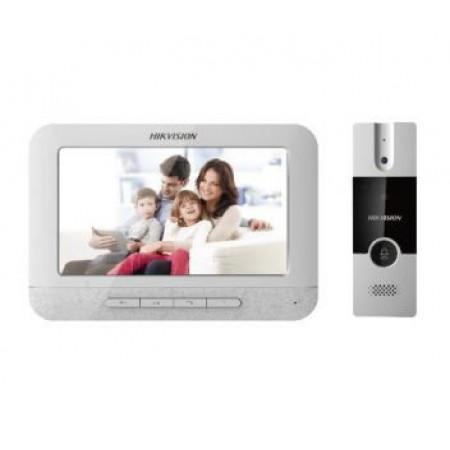 Комплект домофон + вызывная панель Hikvision DS-KIS202