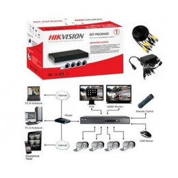 TurboHD Регистратор Hikvision DS-J142I/7104HGHI-SH