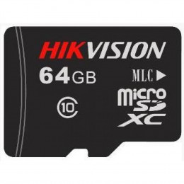 Флеш-карта micro SD Hikvision HS-TF-P1/64G