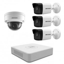 Комплект IP видеонаблюдения Hikvision KIT-DS0142