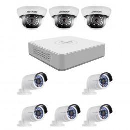Комплект TurboHD видеонаблюдения Hikvision KIT-DS0252