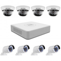 Комплект TurboHD видеонаблюдения Hikvision KIT-DS0251