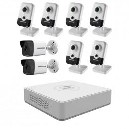 Комплект IP видеонаблюдения Hikvision KIT-DS0216