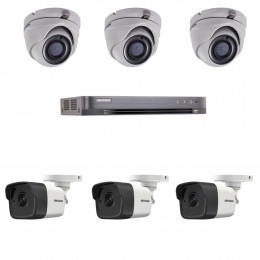 Комплект TurboHD видеонаблюдения Hikvision KIT-DS0260