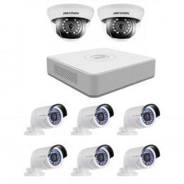 Комплект TurboHD видеонаблюдения Hikvision KIT-DS0254