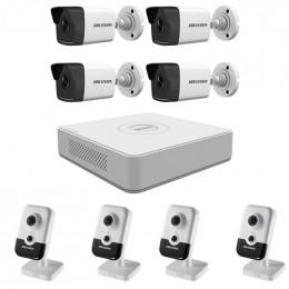 Комплект IP видеонаблюдения Hikvision KIT-DS0219