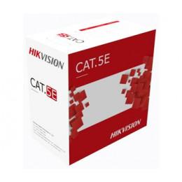 Кабель витая пара Hikvision UTP CAT 5E DS-1LN5EO-UU/E