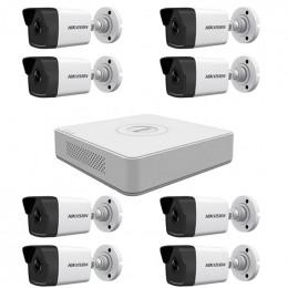 Комплект IP видеонаблюдения Hikvision KIT-DS0232