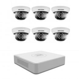 Комплект TurboHD видеонаблюдения Hikvision KIT-DS0249