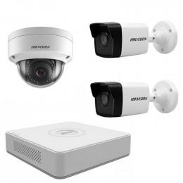 Комплект IP видеонаблюдения Hikvision KIT-DS0157
