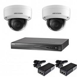 Комплект IP видеонаблюдения Hikvision KIT-DS0164