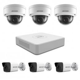 Комплект IP видеонаблюдения Hikvision KIT-DS0224
