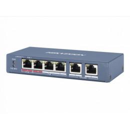 POE коммутатор Hikvision DS-3E0106HP-E