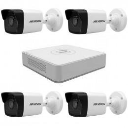Комплект IP видеонаблюдения Hikvision KIT-DS0145