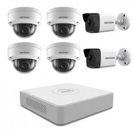 Комплект IP видеонаблюдения Hikvision KIT-DS0222