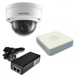 Комплект IP видеонаблюдения Hikvision KIT-DS0136