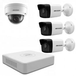 Комплект IP видеонаблюдения Hikvision KIT-DS0159