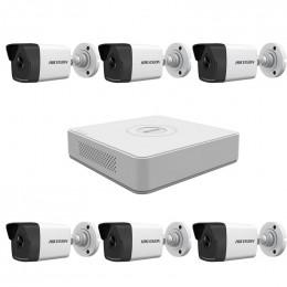 Комплект IP видеонаблюдения Hikvision KIT-DS0214