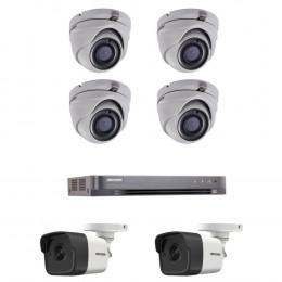Комплект TurboHD видеонаблюдения Hikvision KIT-DS0259