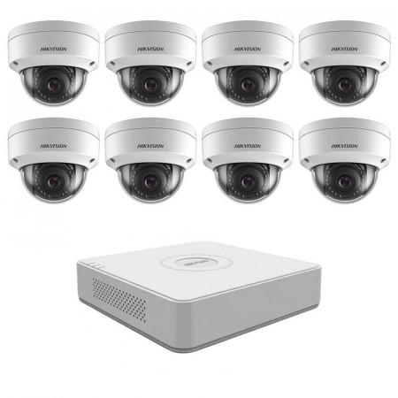 Комплект IP видеонаблюдения Hikvision KIT-DS0245