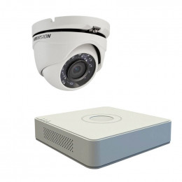 Комплект TurboHD видеонаблюдения Hikvision KIT-DS0179