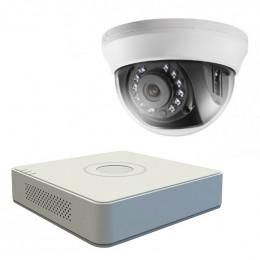 Комплект TurboHD видеонаблюдения Hikvision KIT-DS0171