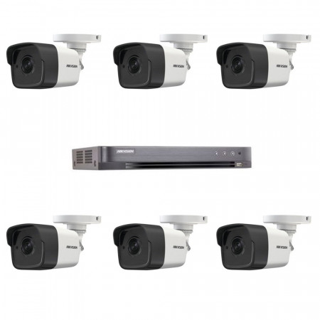 Комплект TurboHD видеонаблюдения Hikvision KIT-DS0262