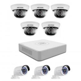 Комплект TurboHD видеонаблюдения Hikvision KIT-DS0253