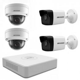 Комплект IP видеонаблюдения Hikvision KIT-DS0158
