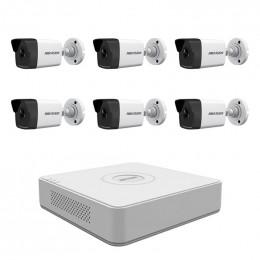 Комплект IP видеонаблюдения Hikvision KIT-DS0225