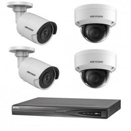 Комплект IP видеонаблюдения Hikvision KIT-DS0166
