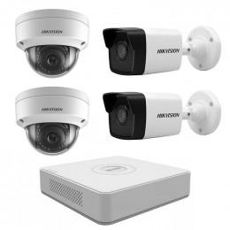 Комплект IP видеонаблюдения Hikvision KIT-DS0139