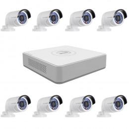 Комплект TurboHD видеонаблюдения Hikvision KIT-DS0257