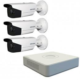 Комплект TurboHD видеонаблюдения Hikvision KIT-DS0184