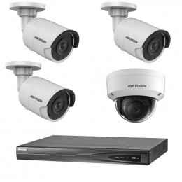 Комплект IP видеонаблюдения Hikvision KIT-DS0169