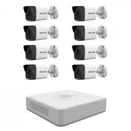 Комплект IP видеонаблюдения Hikvision KIT-DS0244