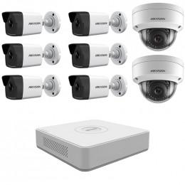 Комплект IP видеонаблюдения Hikvision KIT-DS0240