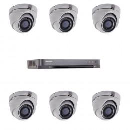 Комплект TurboHD видеонаблюдения Hikvision KIT-DS0261