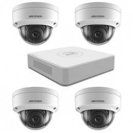 Комплект IP видеонаблюдения Hikvision KIT-DS0144