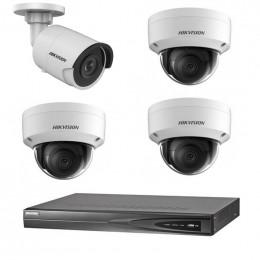 Комплект IP видеонаблюдения Hikvision KIT-DS0167