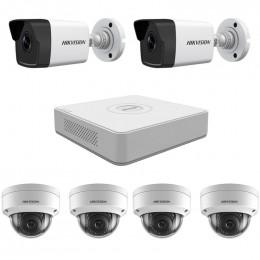 Комплект IP видеонаблюдения Hikvision KIT-DS0234