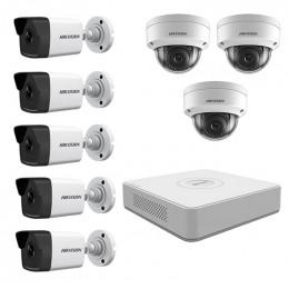 Комплект IP видеонаблюдения Hikvision KIT-DS0230