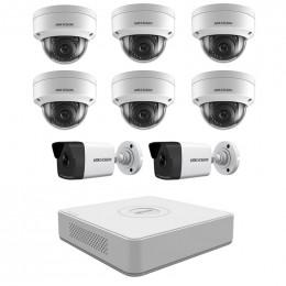 Комплект IP видеонаблюдения Hikvision KIT-DS0239