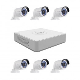 Комплект TurboHD видеонаблюдения Hikvision KIT-DS0250