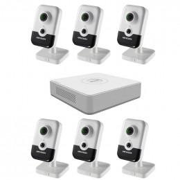 Комплект IP видеонаблюдения Hikvision KIT-DS0213