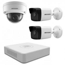 Комплект IP видеонаблюдения Hikvision KIT-DS0141