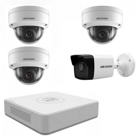 Комплект IP видеонаблюдения Hikvision KIT-DS0160