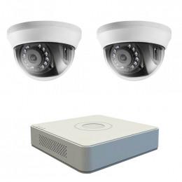 Комплект TurboHD видеонаблюдения Hikvision KIT-DS0172